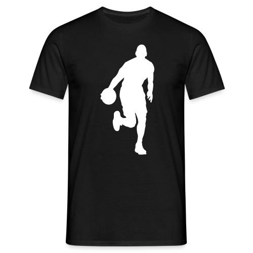PB basket - T-skjorte for menn