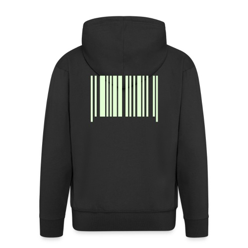 Barcode - Men's Premium Hooded Jacket
