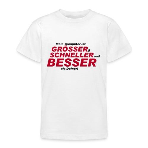 Shirt Mein Computer - Teenager T-Shirt
