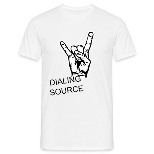 DIALING SOURCE by PIKZIMIK - Men's T-Shirt