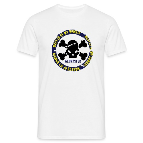 Webmaster - Camiseta hombre
