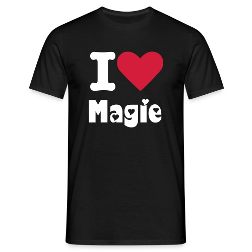 I love Magie - T-shirt Homme