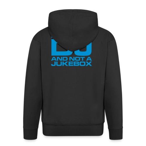 HUMAN DJ Ice Blue - Veste à capuche Premium Homme