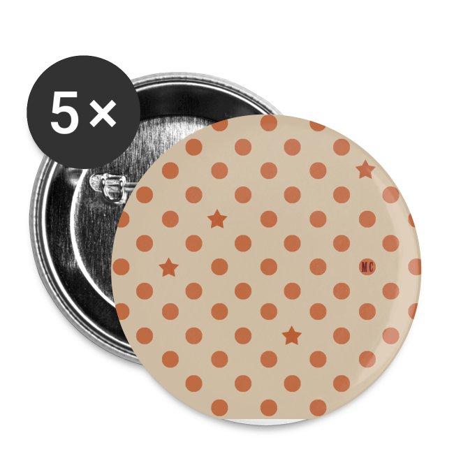 5 Autres gros badges 56 mm