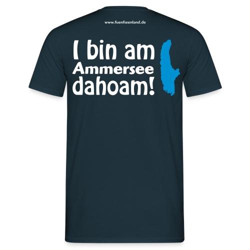 I bin am Ammersee dahoam 2c - Männer T-Shirt