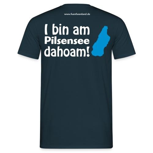 I bin am Pilsensee dahoam 2c - Männer T-Shirt