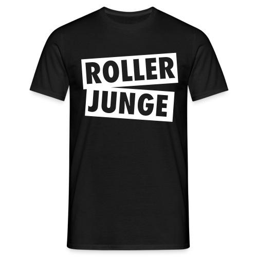 T-Shirt Roller Junge, schwarz - Männer T-Shirt