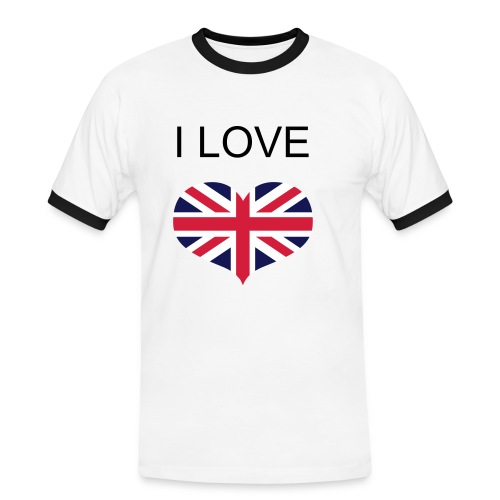 I Love Ramy T-Shirt - Men's Ringer Shirt