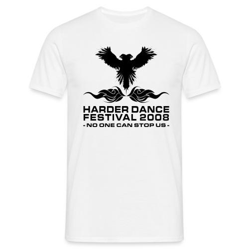Harder Dance Festival 2008 - T-Shirt - Männer T-Shirt