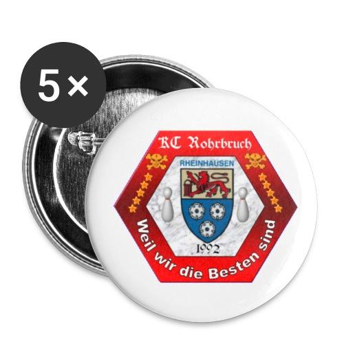 KCR Sticker Logo - Buttons klein 25 mm (5er Pack)