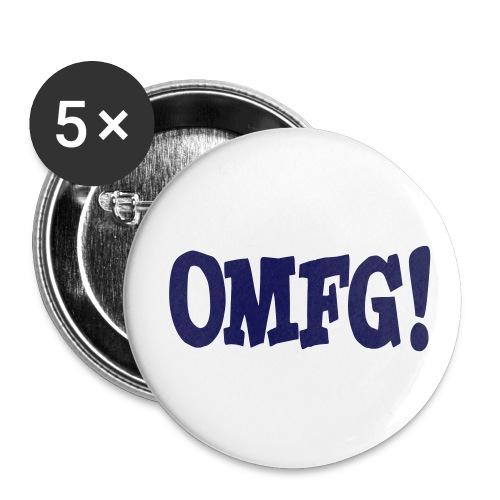 OMFG Pin - Spilla media 32 mm