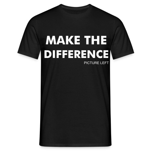 T-shirt Make The Difference - T-shirt Homme