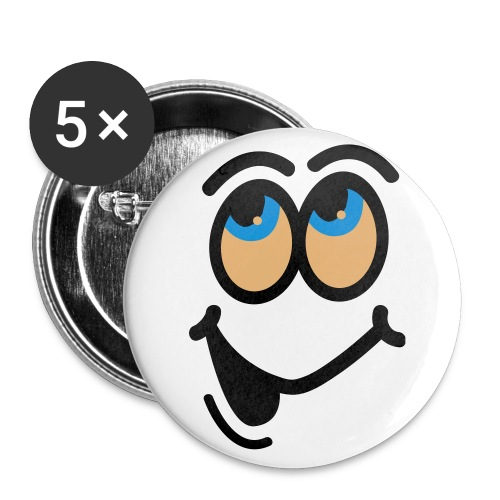 Smiley Badges - Buttons large 56 mm
