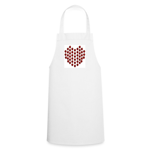 Strawberry Heart Cooking Apron - Cooking Apron
