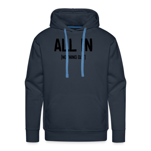 ALL IN - Miesten premium-huppari