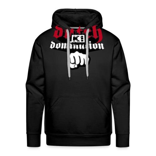 Dutch Domination (Sweater,Black) - Mannen Premium hoodie