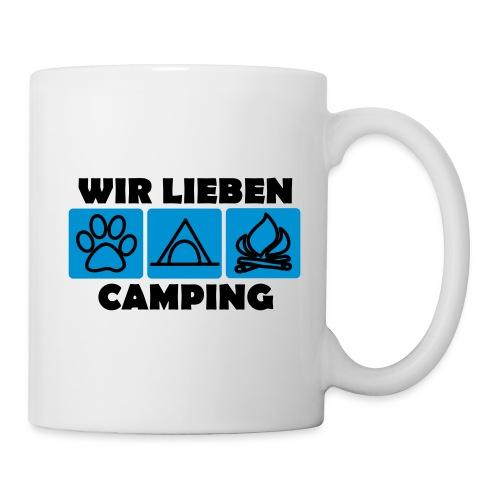 Wir lieben Camping - Tasse