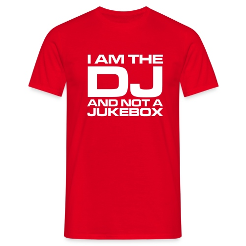 Dj red - Men's T-Shirt