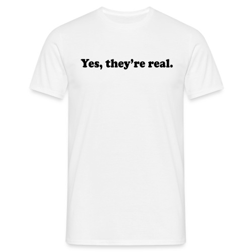Real - Men's T-Shirt