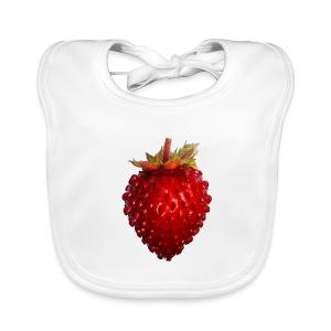 Wild Strawberry Baby Bib - Baby Organic Bib