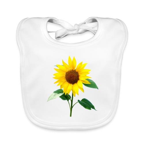 Sunflower Baby Bib - Baby Organic Bib
