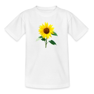 Sunflower Children's T Shirt - Teenage T-shirt