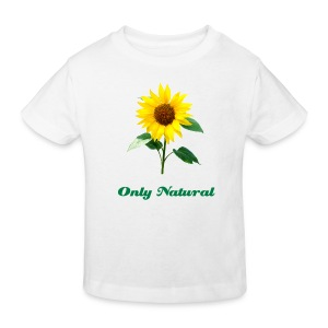 Sunflower Organic Children's T Shirt - Kids' Organic T-shirt