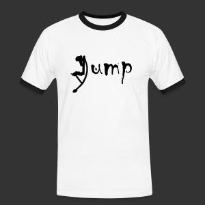 Jump!!! - Männer Kontrast-T-Shirt