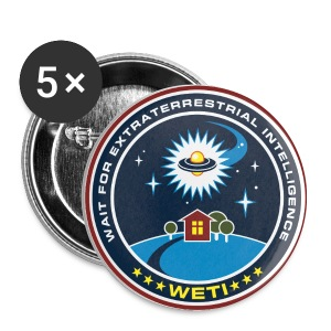 WETI Badges - Buttons small 25 mm