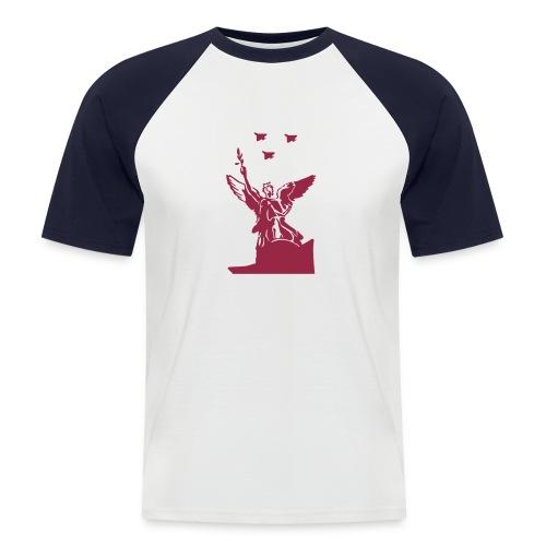 Make peace like war? - Männer Baseball-T-Shirt