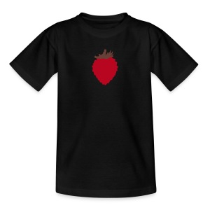 Strawberry Children's T Shirt - Teenage T-shirt