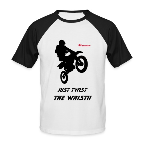 TwistWristTee - Men's Baseball T-Shirt