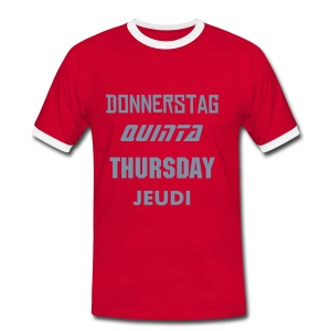 Weekly Thursday - T-shirt contrasté Homme