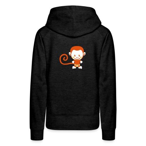 Felpa Woman Monkey moda 2008 - Felpa con cappuccio premium da donna