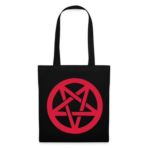 Bolso pentagrama Negro - Bolsa de tela