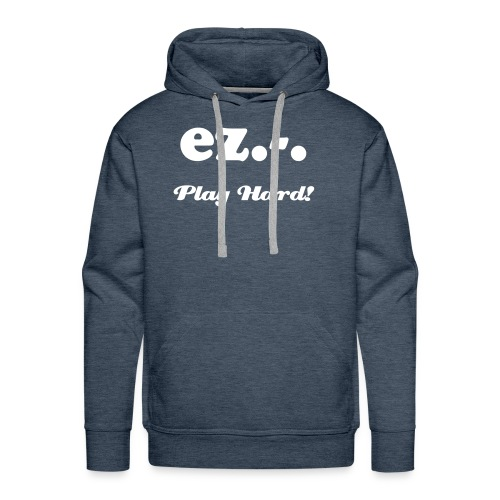Play hard! - Premium hettegenser for menn
