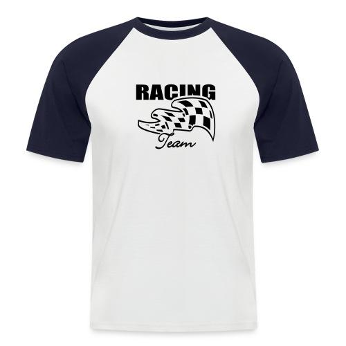 Racing - Mannen baseballshirt korte mouw
