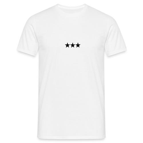 3-Stars T-Shirt  - T-skjorte for menn