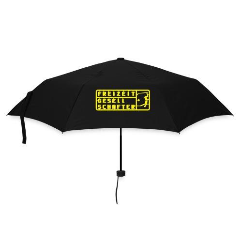 Regenschirm mit Frontdruck - Regenschirm (klein)