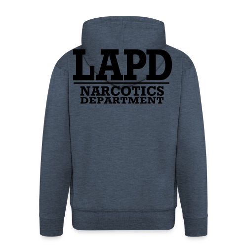 L-A-P-D Dept - Veste à capuche Premium Homme