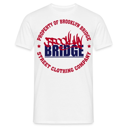 PROPERTY OF BROOKLYN  - T-shirt Homme
