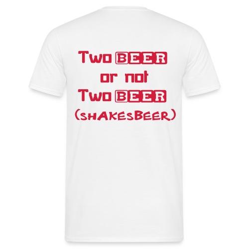 Shakesbeer 'T' - Men's T-Shirt