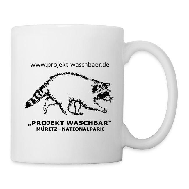 Tasse - Projekt Waschbär