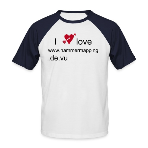 We Loveshirt - Männer Baseball-T-Shirt