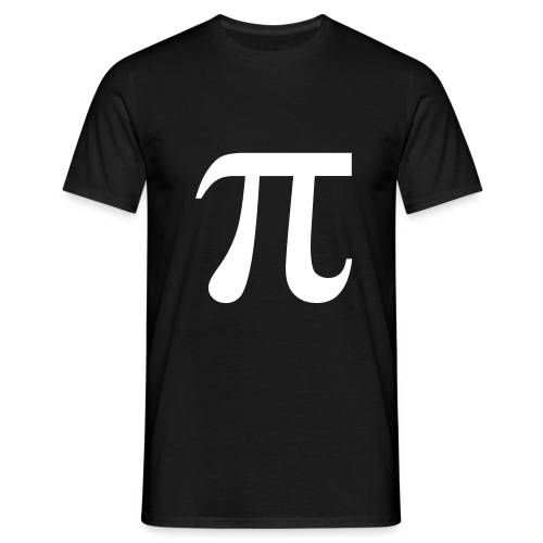 Pi-shirt - Männer T-Shirt