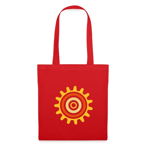 Sac en tissus rouge - Tote Bag
