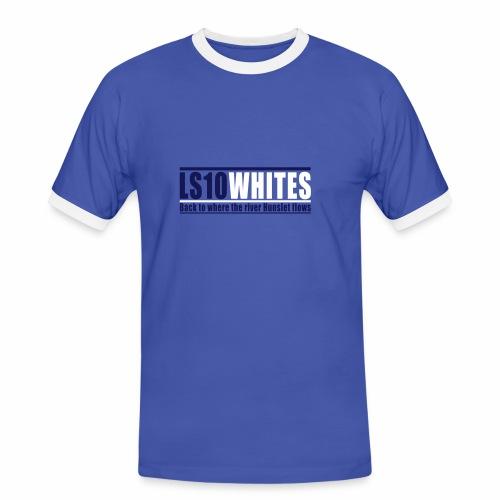 LS10 WHITES BACK TO WHERE THE... - Men's Ringer Shirt