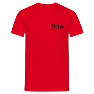 Bass-Akademie-shirt-rot - Männer T-Shirt