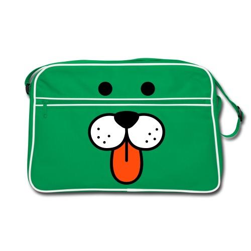 Hundehovede på taske - Retro taske
