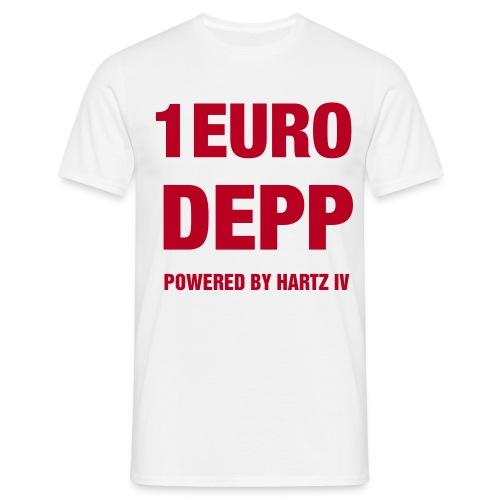 1-EURO-DEPP-Shirt - Männer T-Shirt